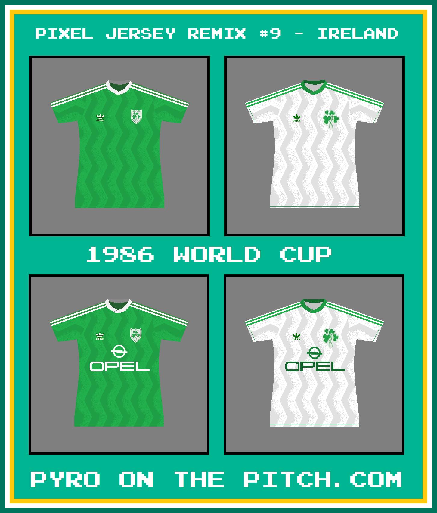 ireland adidas 1986 all